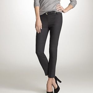 J. Crew Minnie Pant in Bi-stretch Wool 0